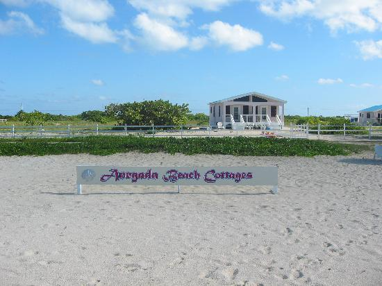 Anegada Beach Cottages: view from the beach