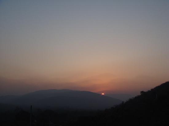 Sunset at Rajgir