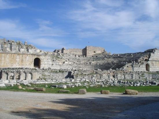 Milas, Turkiet: Mileto: Anfiteatro.