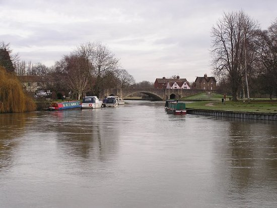 Абингдон, UK: Thames River at Abingdon