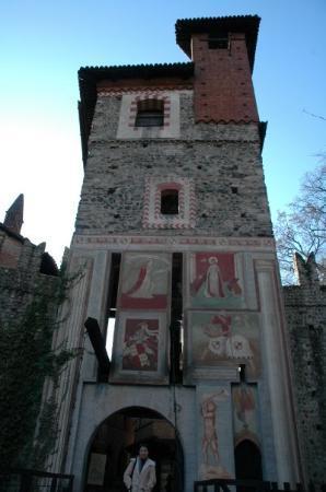 Turín, Italia: Torre del Castillo del Valentino
