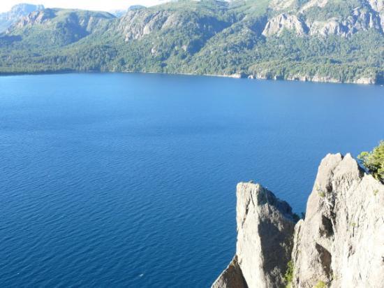 Mirador Lago Traful: Lago Traful... Mirador Traful