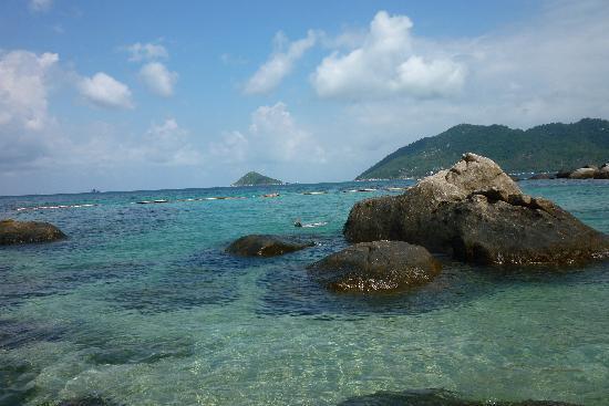 Charm Churee Villa: la plage/crique