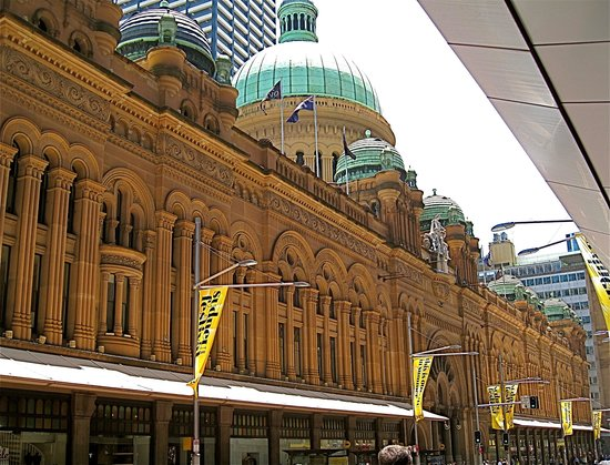 Sydney, Austrália: Queen Victoria Building, a chic shopping mall now