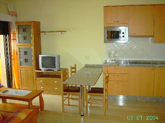 Aparthotel Atlantico Resort: cocina