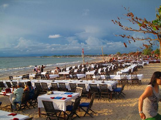 Seafood Restaurants At Jimbaran Beach Picture Of Jimbaran South