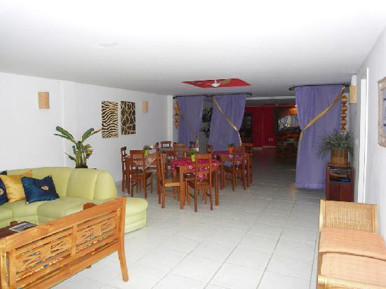 Villa Baoba: Lobby