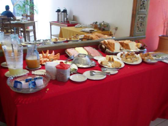 Villa Baoba: breakfast