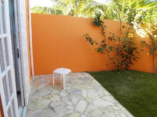 Villa Baoba: private garden