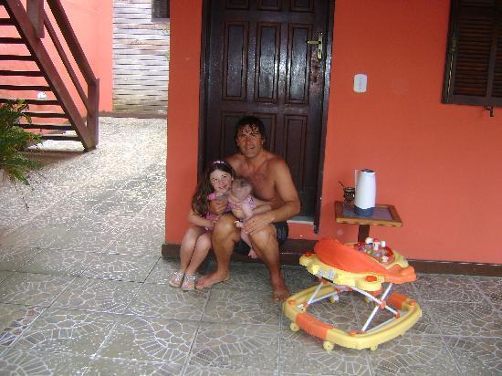 Barra da Lagoa Hotel : antes del desayuno