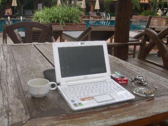 Sabai Resort: 無料でワイヤレスITが利用できます。