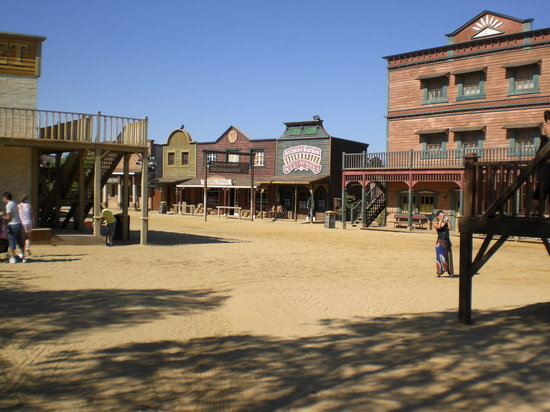 Oasys MiniHollywood: Old Western Town built under instructions of Sergio Leone
