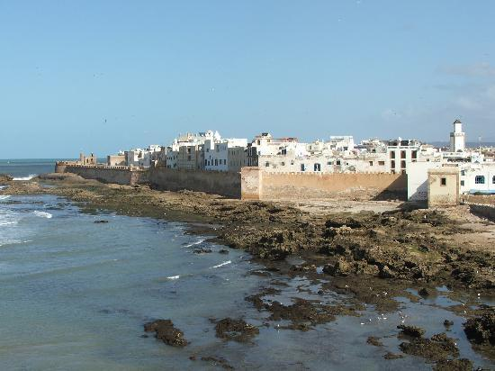 Al Jasira Hotel: panorama di essaouira