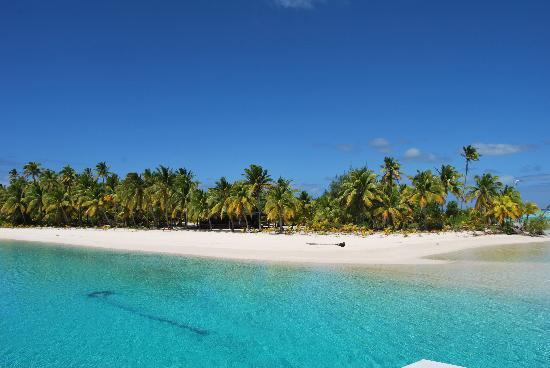 Pacific Resort Aitutaki : one foot island (unica)