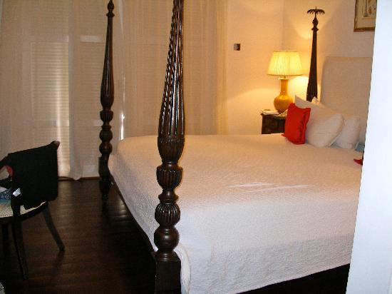 Cotton Bay Village: The master bedroom