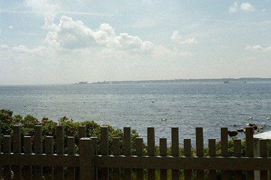 Sofiero Slott : Denmark's Hamlet's Castle across strait from shore