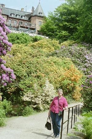 Helsingborg, Suécia: Gardens at castle
