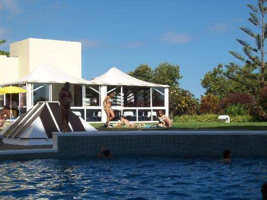 Alto Lido Hotel: The pool and cafe