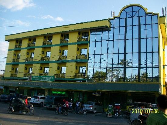 Lingayen, Philippines: hotel front