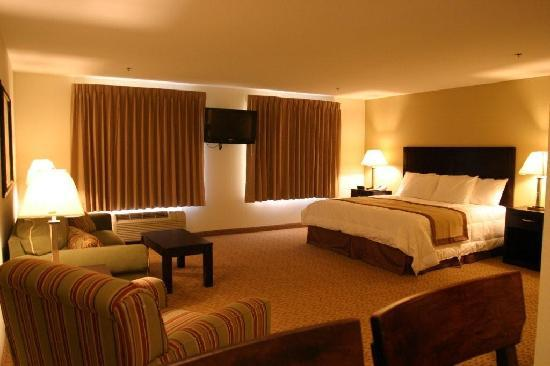 BEST WESTERN PLUS Valdosta Hotel & Suites : All Suites, Kitchen , Living room, Flat Screen TV's