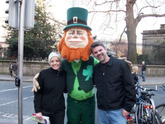 Dublin Literary Pub Crawl: We found the Leprechaun