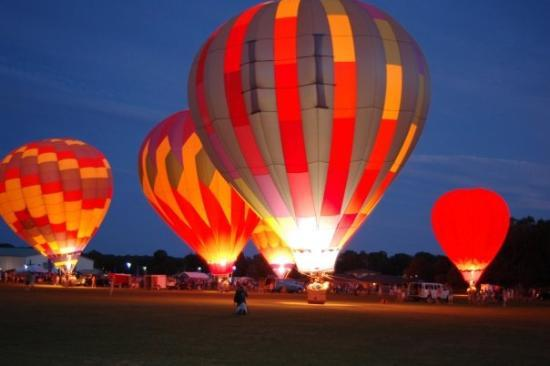 Providence, RI: Hot Air Balloon Festival, URI