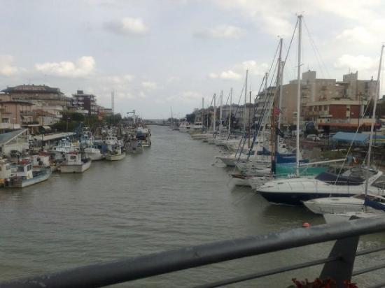 puerto de Bellaria-Igea Marina, Italia