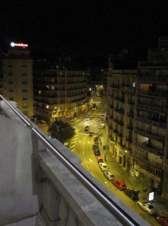 Hotel Via Augusta: Aussicht vom Hotelzimmer