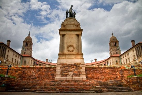 Pretoria, Zuid-Afrika: The Union Building!