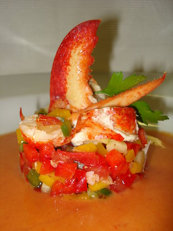 Il Trionfo : Gaspacho with lobster