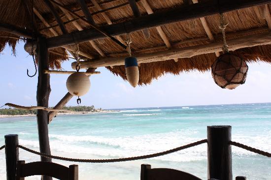 Playa Bonita: view from the patio