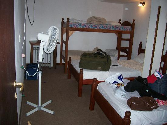 Hotel Aguas Mansas: el ventilador de pie