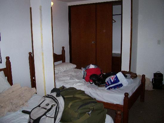 Hotel Aguas Mansas: poco espacio