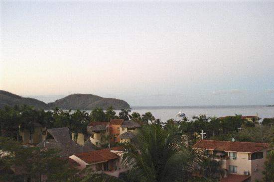 Villa Carolina Hotel: dawn on Playa La Ropa