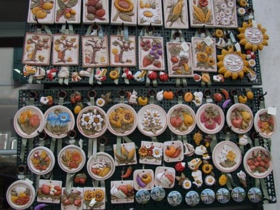 Udine, Italia: artigianato locale