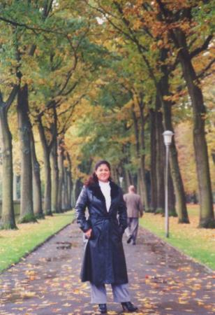 Bayreuth, Germany behind the Wagner Opera House. Bayreuth is were my husband grew up. I was visi