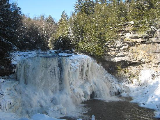 Blackwater Falls State Park Lodge: Blackwater Falls