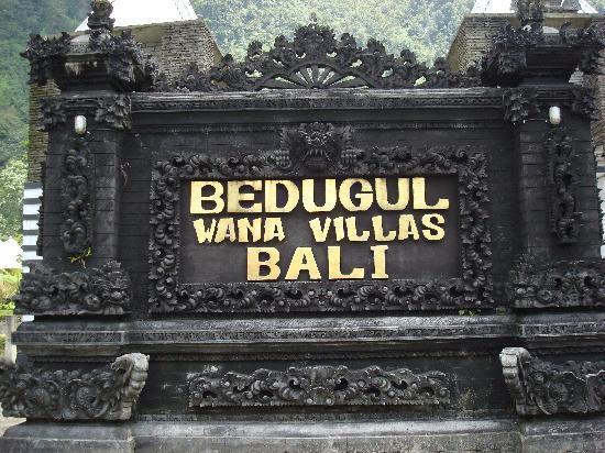 Wana Villas & Beach Resort: Bedugul Wana Villa Bali