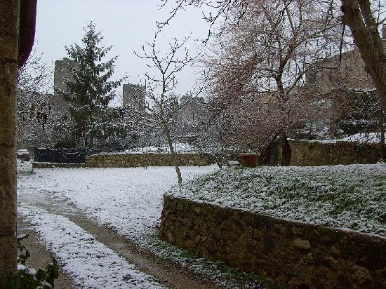 Bed & Breakfast In Piazza: ook in de winter prachtig