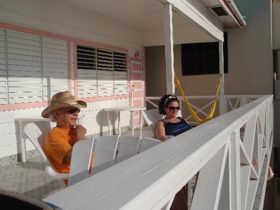 Conch Shell Inn: The front porch