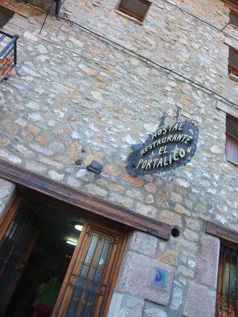 Hostal Restaurante El Portalico: exterior