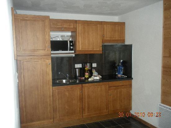 Lagrange Prestige Residence le Clos Saint Hilaire: cocina