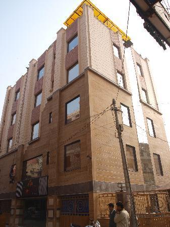 Hotel The Daanish Residency: hotel bulding