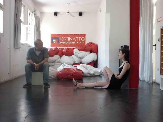 Ostinatto Hostel: Después de la clase de tango