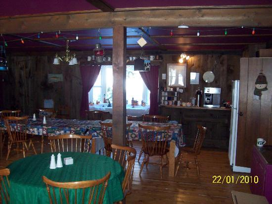 The Woodshed Lodge : The Woodshed Dining Room