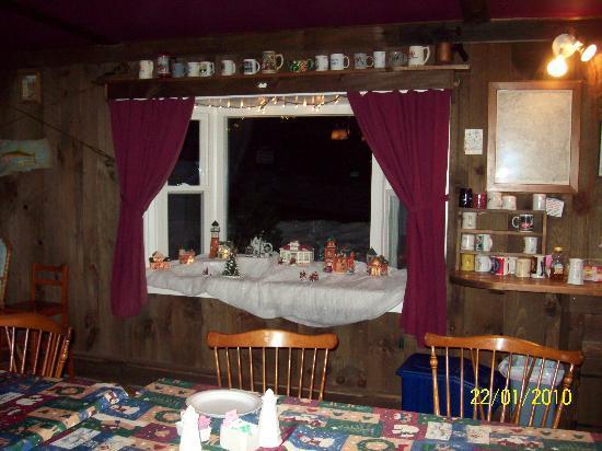 The Woodshed Lodge: The Woodshed Christmas Village