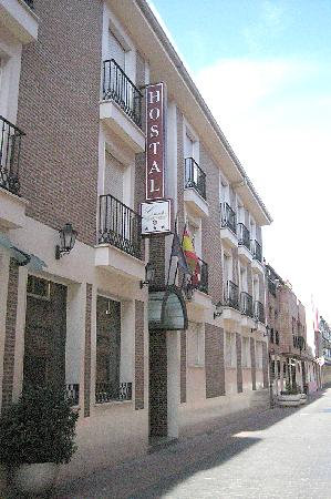 Getafe, Spain: Fachada del hotel