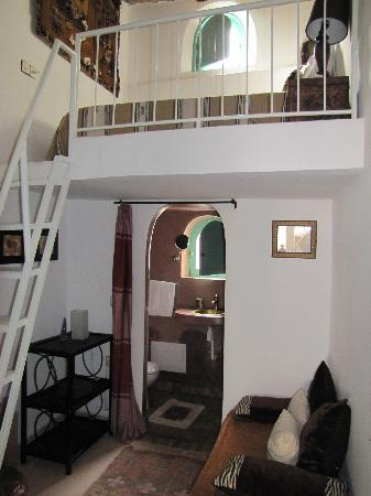 la chambre mezzanine photo de riad farah marrakech tripadvisor. Black Bedroom Furniture Sets. Home Design Ideas