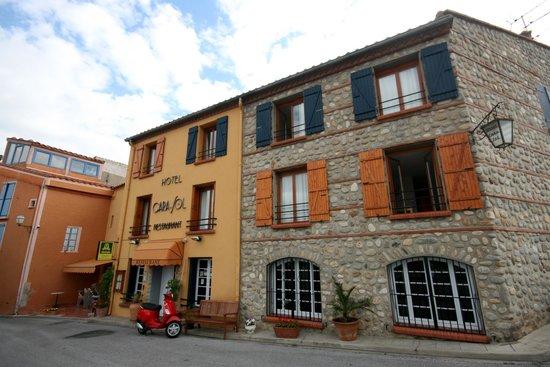 Hotel le Cara Sol: Hotelansicht