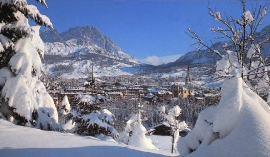 Cortina d'Ampezzo, Italië: Cortina, Italy 1999